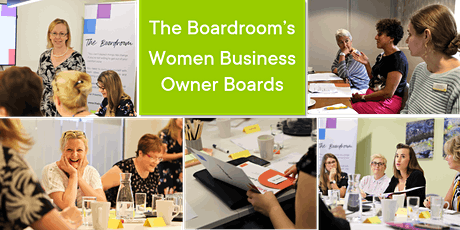 Free Taster of The Boardroom's Women Business Owner Boards - Live & Interactive Zoom WebConference tickets