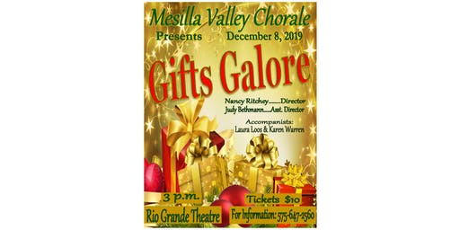 Mesilla Valley Chorale - Gifts Galore