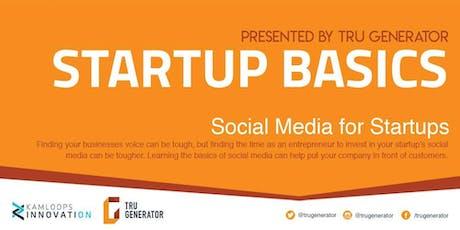 Startup Basics: Social Media tickets
