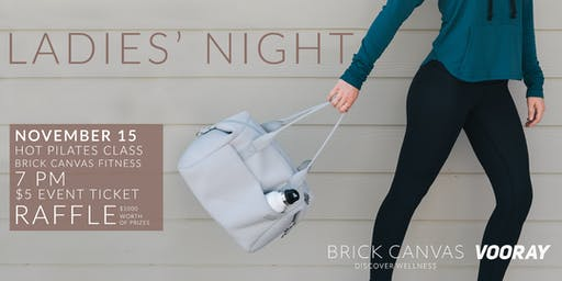 You're Invited! Ladies' Night at Brick Canvas