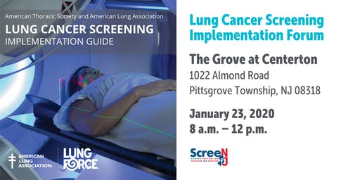 Lung Cancer Screening Implementation Forum - American Lung Association