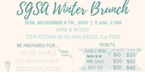 SGSA Winter Brunch