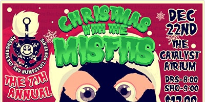 """7th Annual """"Christmas with the Misfits"""" Charity Benefit"""