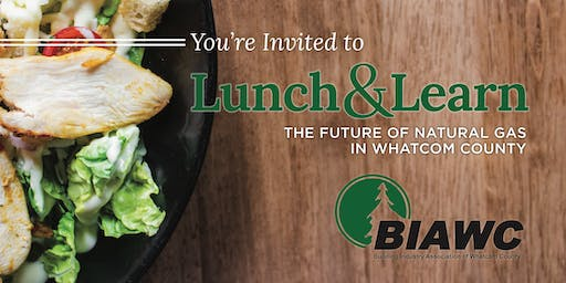 Lunch & Learn: The Future of Natural Gas in Whatcom County