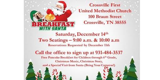 Breakfast with Santa - please select 1 ticket per child 6th grade & under