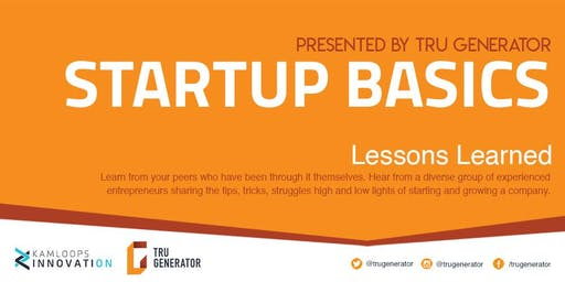 Startup Basics | Lessons Learned
