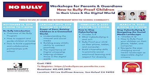 No Bully Workshops