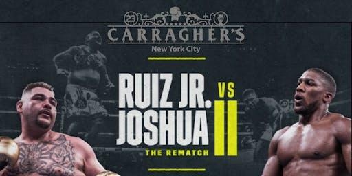 Ruiz JR vs Joshua 2