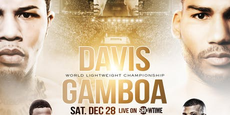GERVONTA DAVIS VS. YURIORKIS GAMBOA DECEMBER 28TH ON SHOWTIME tickets