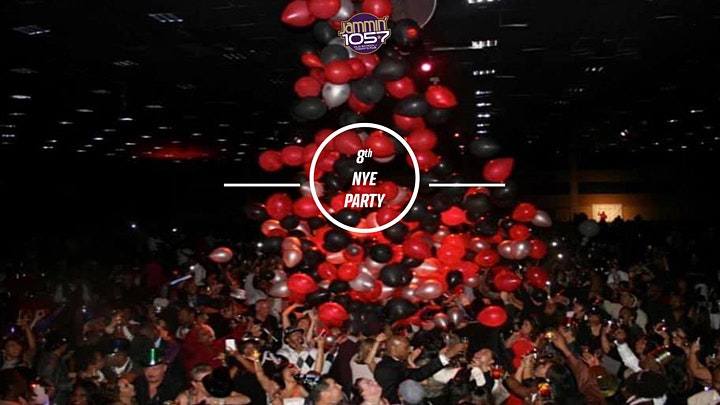 Las Vegas New Years Party Jammin 1057 8th Annual + VIP Tables + Tickets image