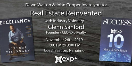 Real Estate Reinvented with Industry Leader Glenn Sanford