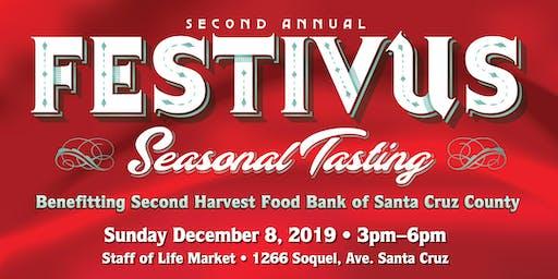 2nd Annual Festivus Seasonal Tasting to benefit Second Harvest Food Bank