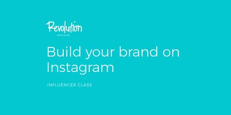 Build Your Brand on Instagram tickets