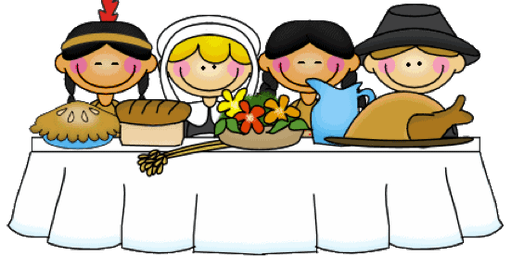 "Kids Club - Tues. Nov. 19th or Thurs. Nov. 21st  ""First Thanksgiving Fun!"""