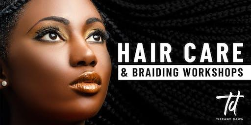 Hair Care and Braiding Workshop December 15, 2019