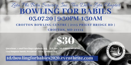 Bowling for Babies with TDZ 2020 tickets