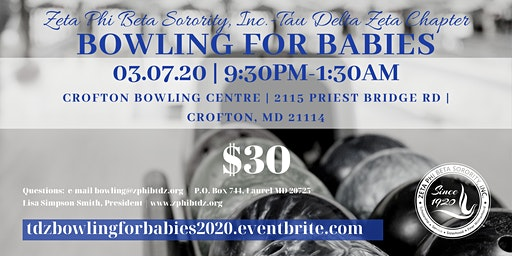 Bowling for Babies with TDZ 2020