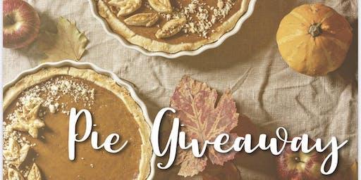 Annual pie giveaway client appreciation event