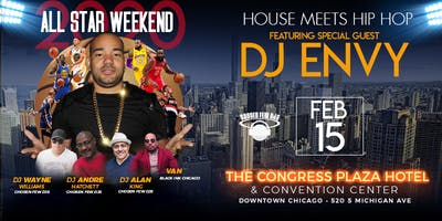 Allstar Weekend House Meets Hip Hop Party At The Congress Hotel