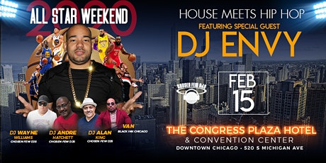 Allstar Weekend House Meets Hip Hop Party At The Congress Hotel tickets