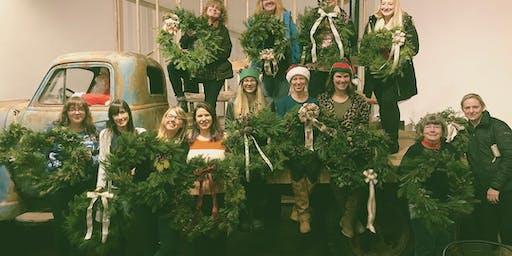 Make a Holiday Wreath at Timberyard