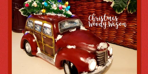 Woody Wagon Paint Class