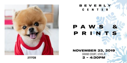 Beverly Center: Paws & Prints