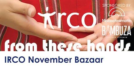 From These Hands - IRCO November Bazaar Vendor Reg tickets