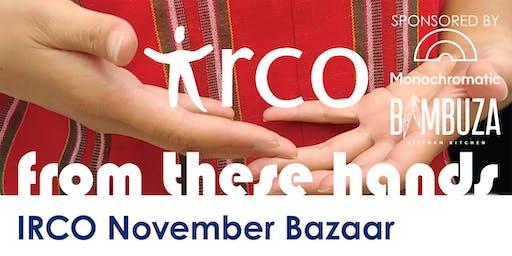 From These Hands - IRCO November Bazaar Vendor Reg