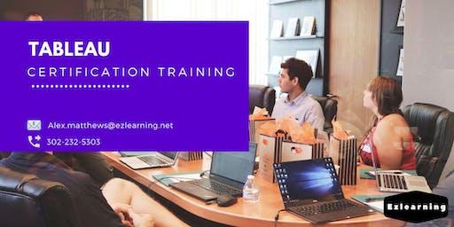 Tableau 4 Days Classroom Training in  Miramichi, NB