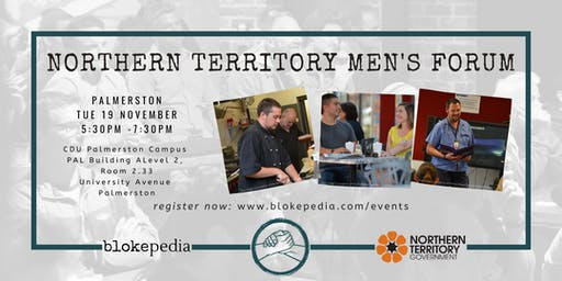 NT Mens Forum: Palmerston (Evening Session)