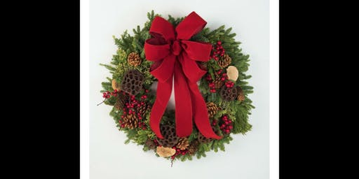 Fresh Wreath Decorating Workshop