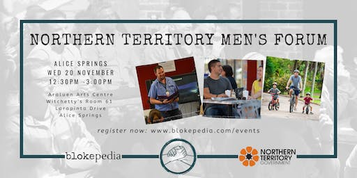 NT Mens Forum: Alice Springs (Afternoon Session)