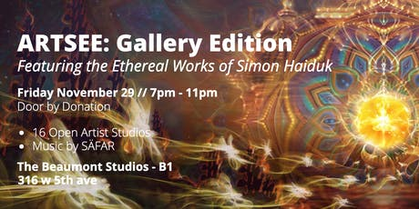 ArtSee: Gallery Edition [Featuring the Ethereal Works of Simon Haiduk] tickets