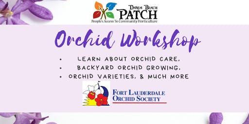 PATCH Orchid Workshop
