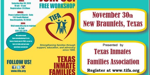 New Family Workshop presented by TIFA
