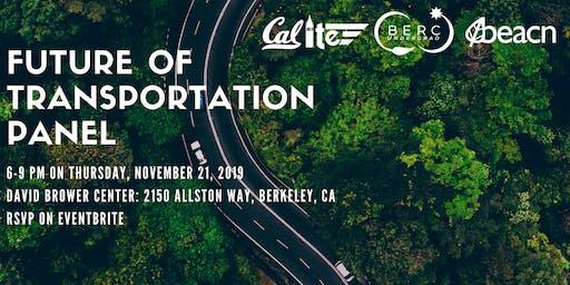 Future of Transportation Panel by BERCU, BEACN, & ITE