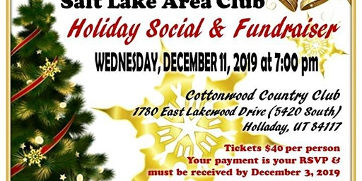 Zonta Holiday Social & Fundraiser