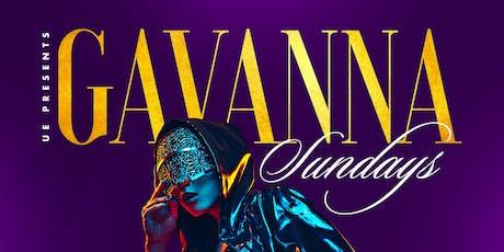 Gavanna Sundays Hip Hop/Latin Fusion tickets