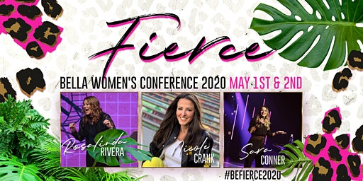 FIERCE - Bella Women's Conference 2020, Richmond, VA - Rosalinda Rivera