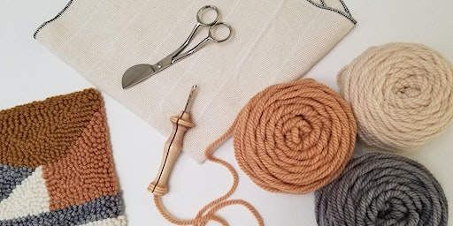 Intro to Punch Needle Rug Hooking