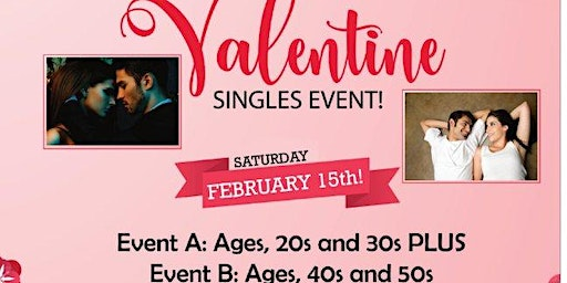 Toronto | Vaughan's Be My Valentine Singles Event! 20s & 30s PLUS 40s & 50s