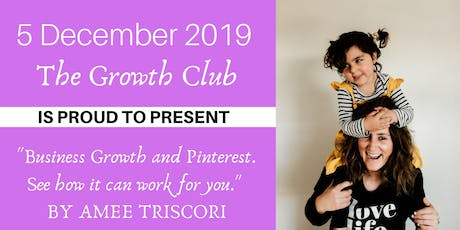 Business Growth & Pinterest. See how it can work for you. tickets