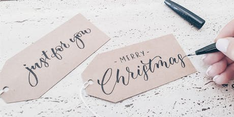 Christmas Beginner Brush Lettering #2 tickets