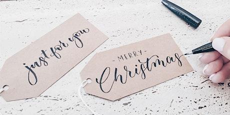 Christmas Beginner Brush Lettering #2 tickets