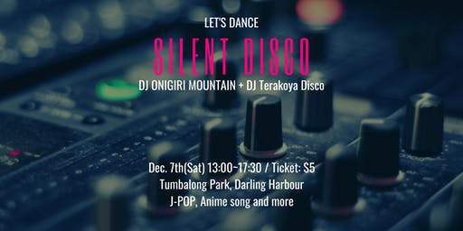 Silent Disco at Matsuri Festival Sydney
