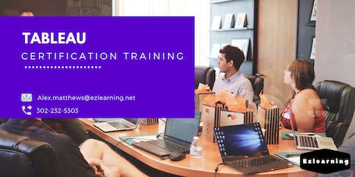 Tableau 4 Days Classroom Training in  Picton, ON