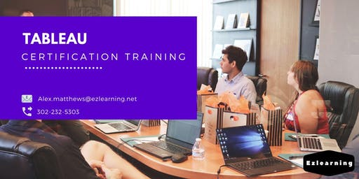 Tableau 4 Days Classroom Training in  Peterborough, ON