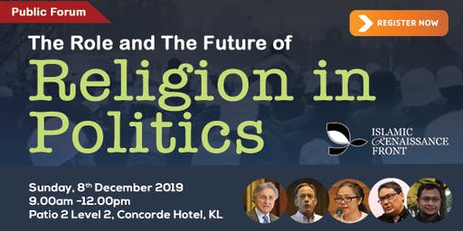 "Public Forum ""The Role and Future of Religion in Politics"""