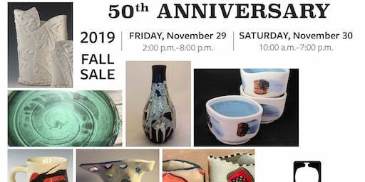 Montgomery Potters 50th Anniversary Fall Sale